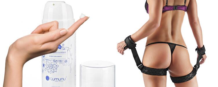 Das Deluxe Body After Shave Lotion (100ml) Lumunu, so wie das Deluxe Hand und Oberschenkelfesseln Fesselset im Test!