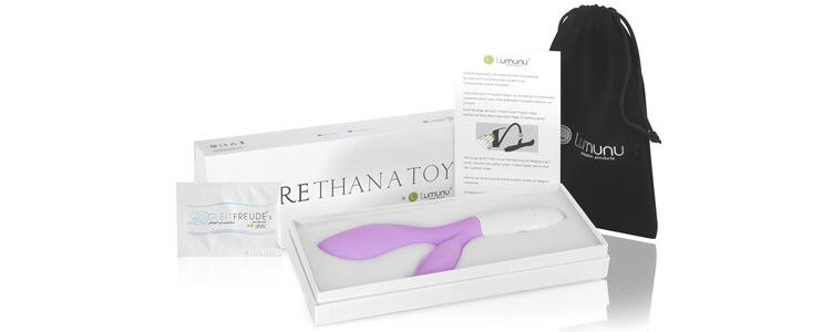 Der Deluxe Lumunu G Punkt Vibrator mit Klitoris Stimulation und 30 Programmen im Test!