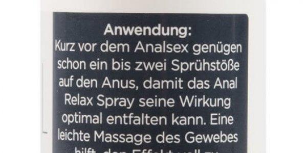 Deluxe Anal Relax Spray (100ml), beruhigendes Anal Entkrampfungsspray für entspannten Analsex (4)