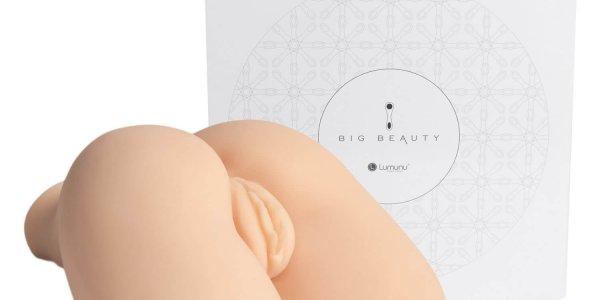 Deluxe Pussy & Ass Cyberskin Masturbator, gefühlsechte 2,5 Kilogramm schwere XXL Realistic Vagina (6)