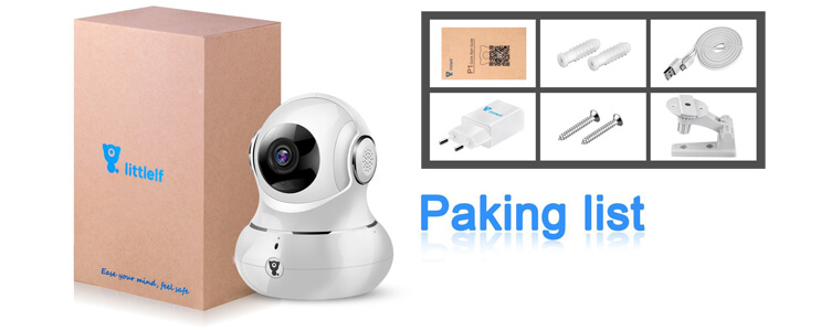 Die 1080P HD Wifi IP Camera, 3D Panorama Home WiFi Camera im Test!