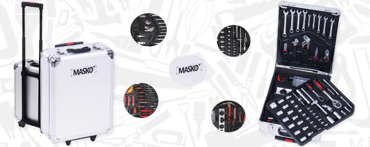 Der Masko® 725 Teile Werkzeugkoffer im Test!