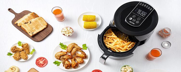 Die Aicok Heißluftfritteuse, Fritteuse ohne Öl im Test!